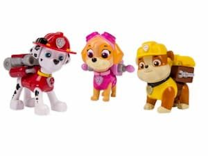 PAW Patrol Actie Pups Marshall, Skye & Rubble