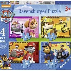 PAW Patrol puzzel set 4