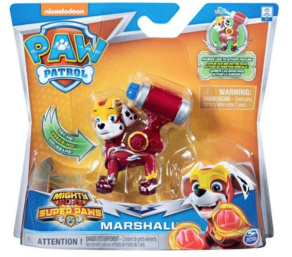 PAW PATROL MIGHTY PUPS ACTION PACK MARSHALL