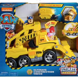 PAW Patrol Ultimate Construction Rescue Truck Rubble